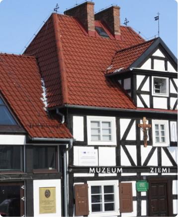 Fasada z muru pruskiego Oddziału Muzeum