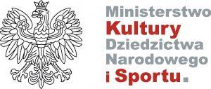 Kolorowe logo Ministerstwa Kultury Dziedzictwa Narodowego i Sportu.